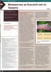 Wondmeting en evaluatie van de therapie deel 2
